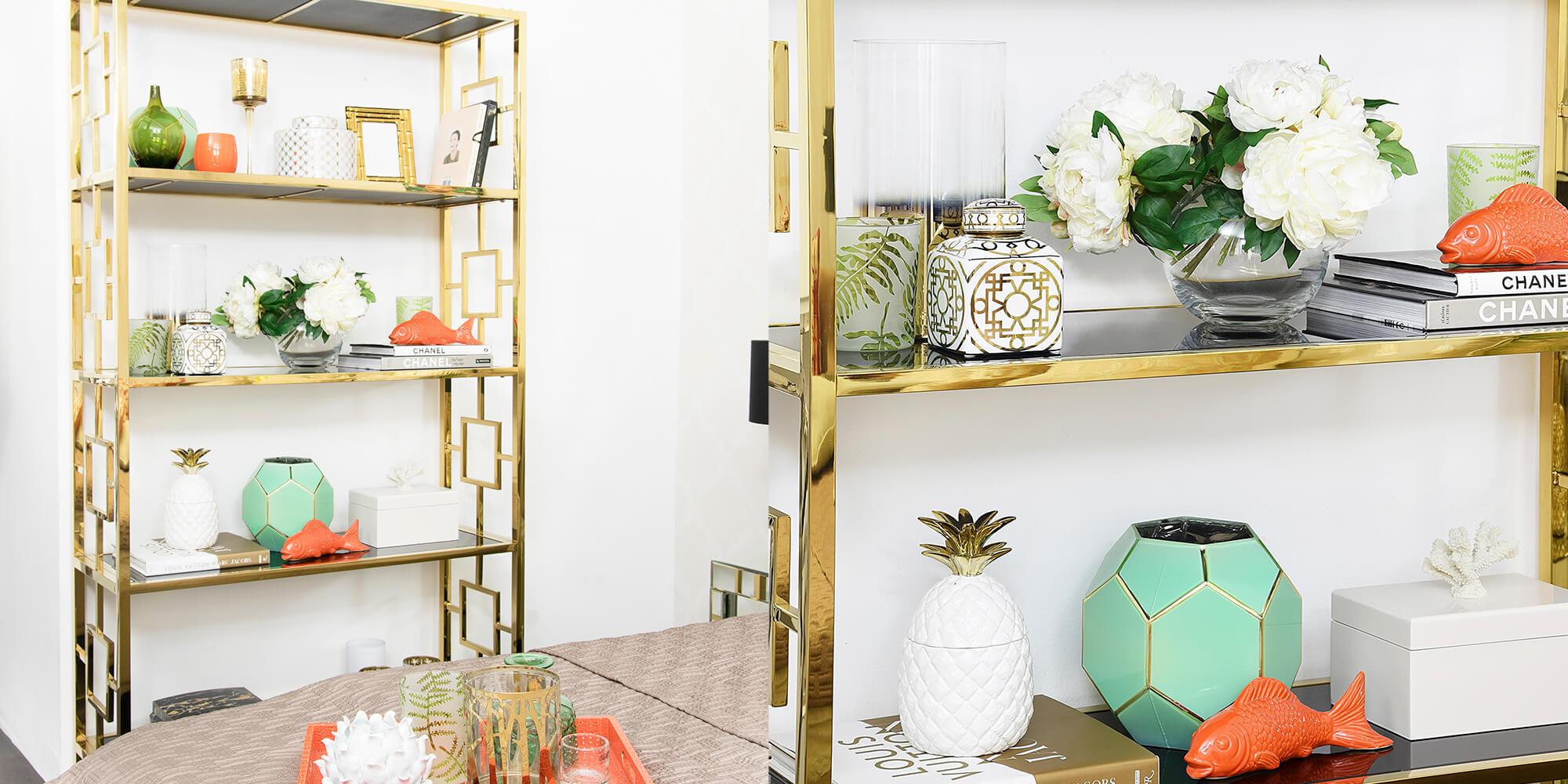 Let's get retro! Bücherregal im Art-Deco-Stil