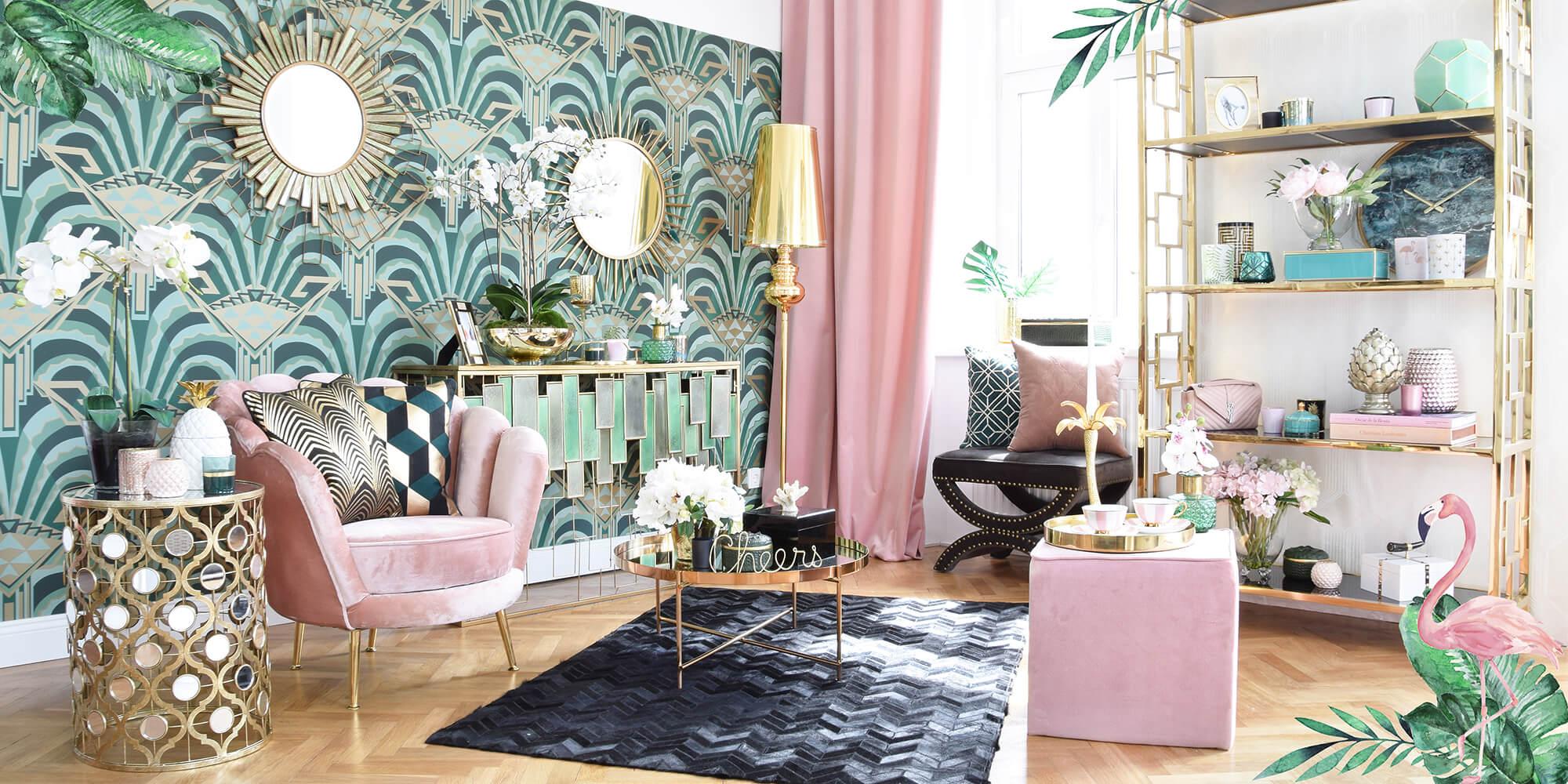 Neuer Look online: Beverly Hills Hotel Lounge