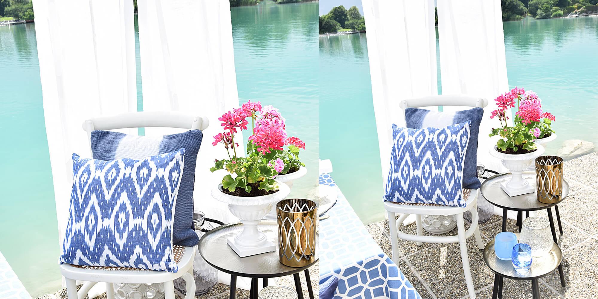 Pures Mykonos-Feeling für Ihre Terrasse