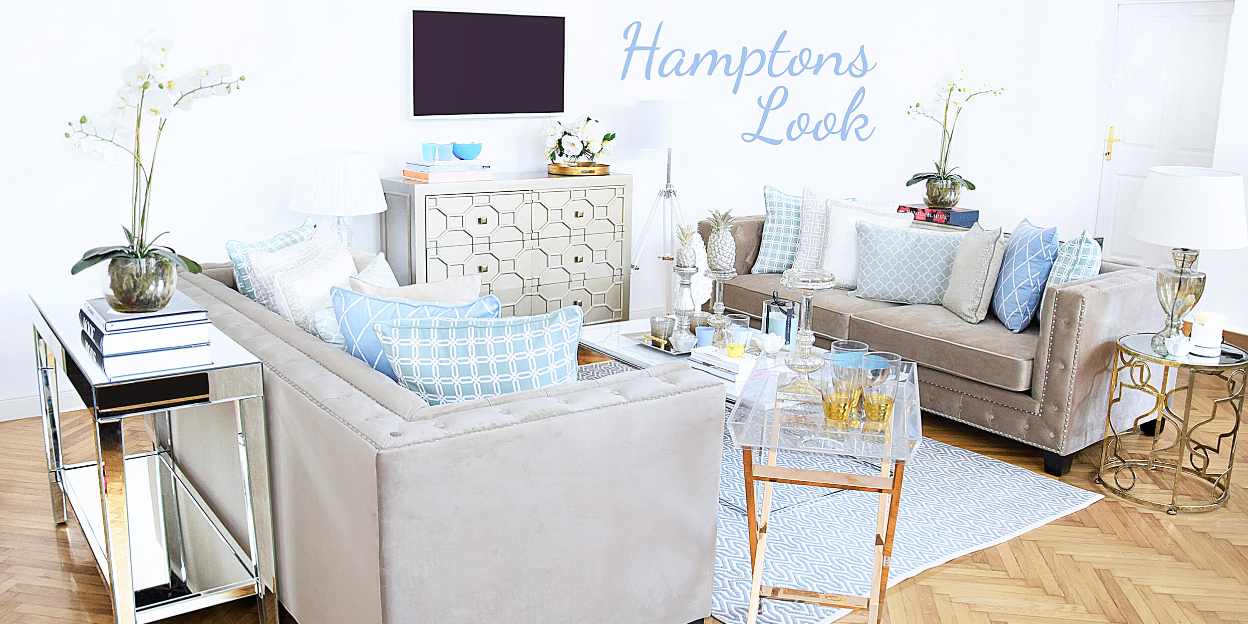 New Look! Hamptons-Style
