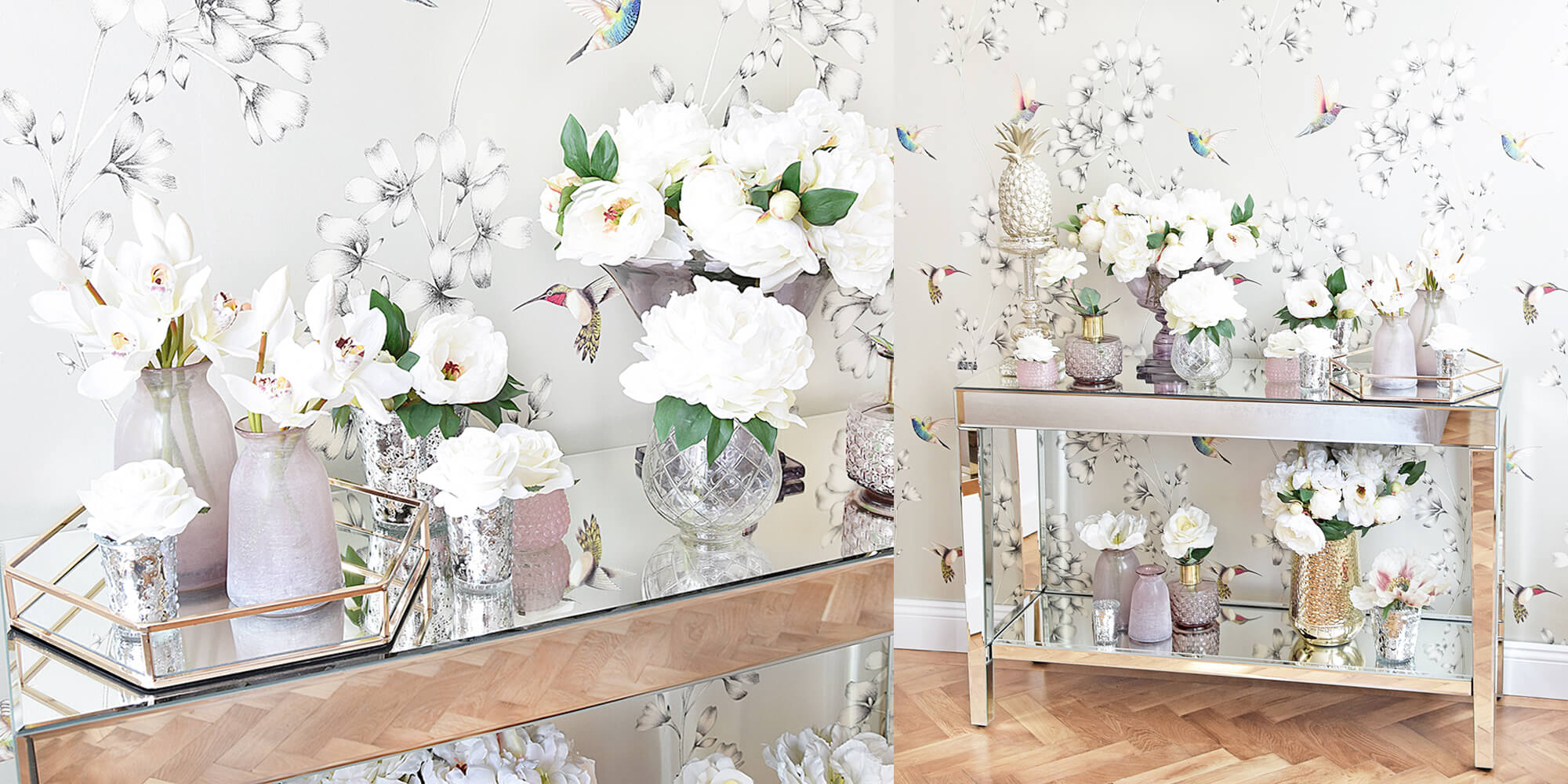Für jede Blume die perfekt Vase :)