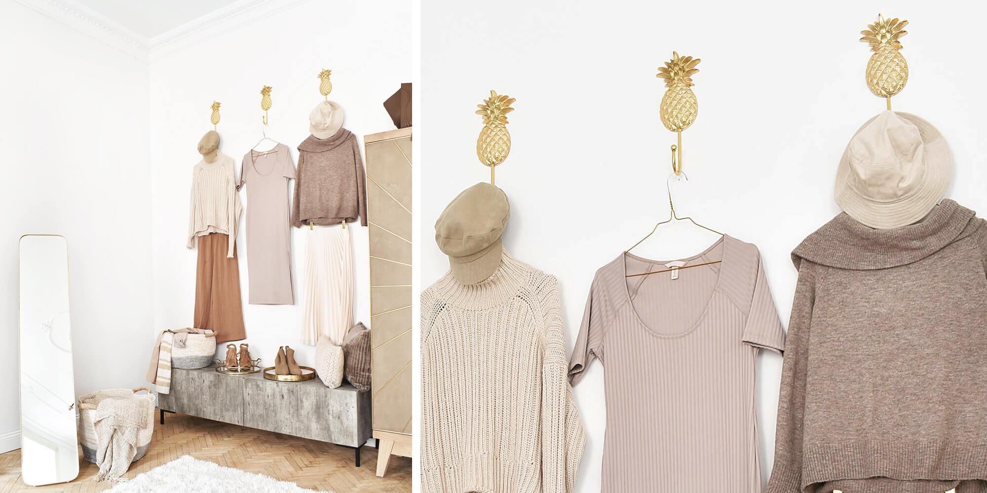 Wandhaken & Kleiderbügel