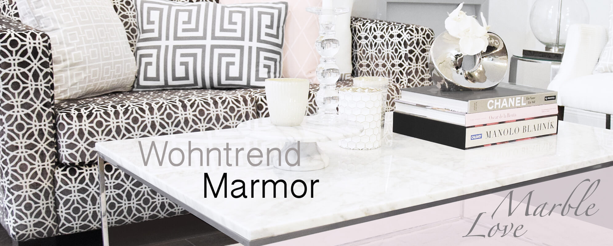 Wohntrend Marmor