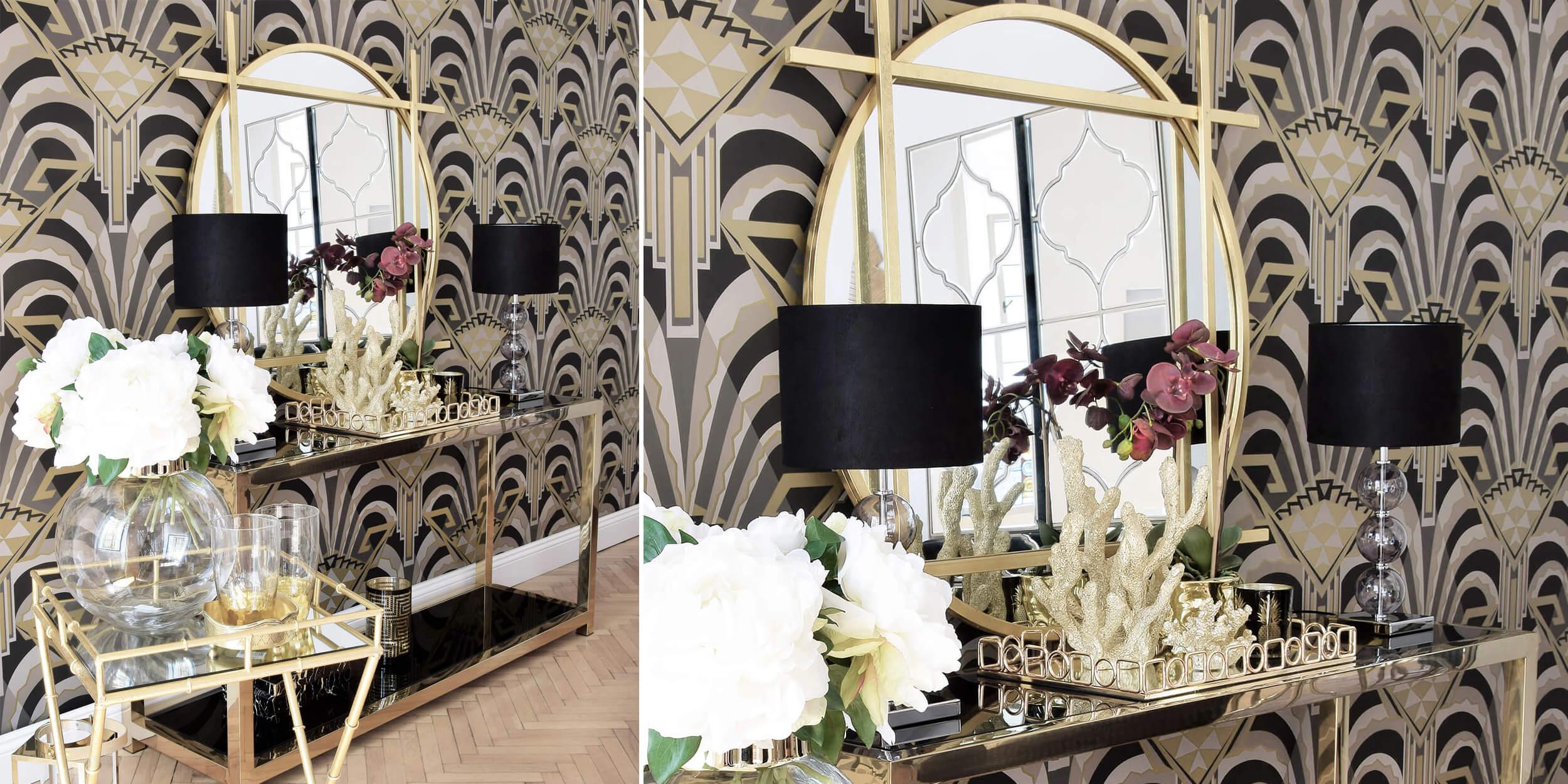 Glamour-Highlight: Edle Konsole & Stylishe Deko