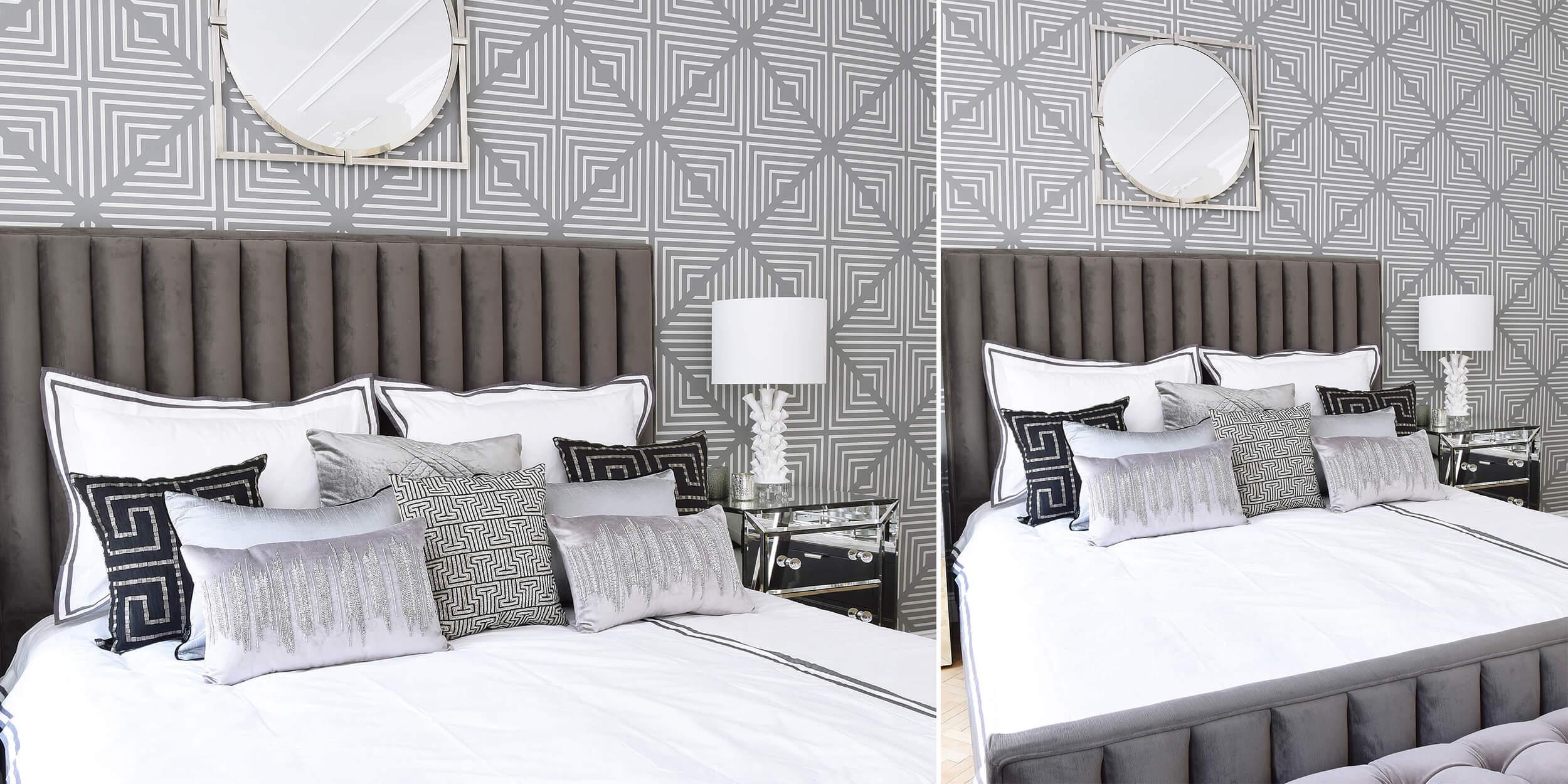 Elegant & Colourless Bedroomdecor