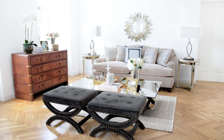 Classy Oxford - Ein klassisch elegantes Wohnzimmer - Looks