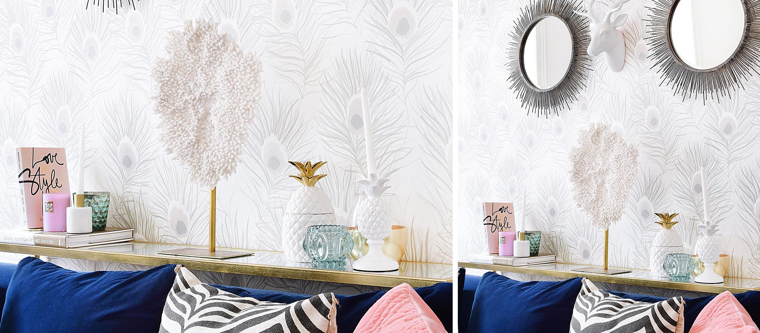 Perfekt Dekoration Schlafzimmer Erwachsene Glamour Schwarz Und Silber