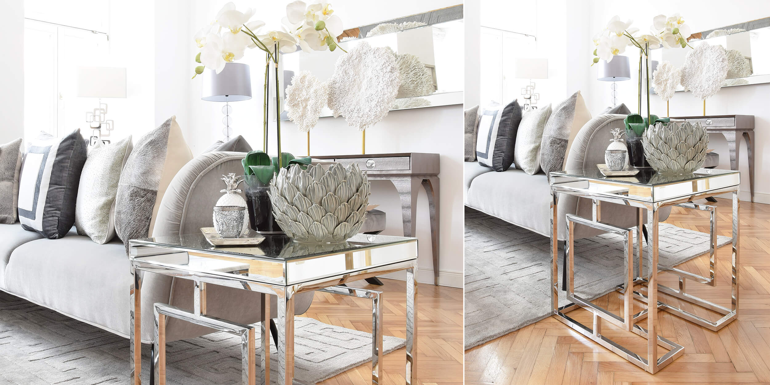 Deko-Traum in Silber & Grau - #InstaShop