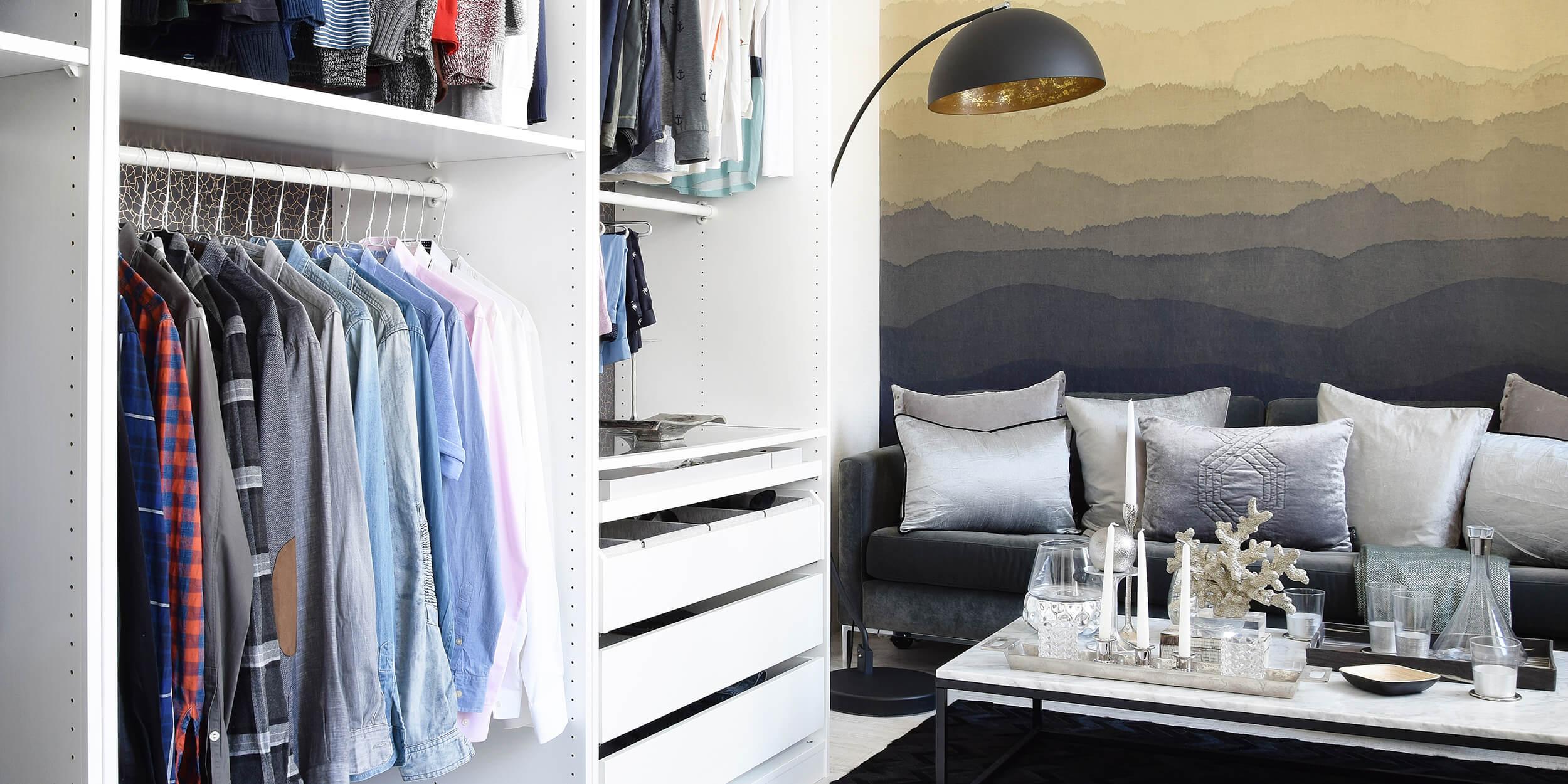 Dressing Room-Goals: Stylish & Ordentlich