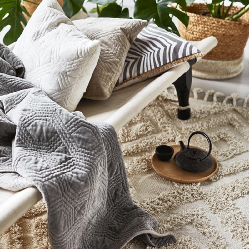 Boho-Love Textilien in Erdtönen