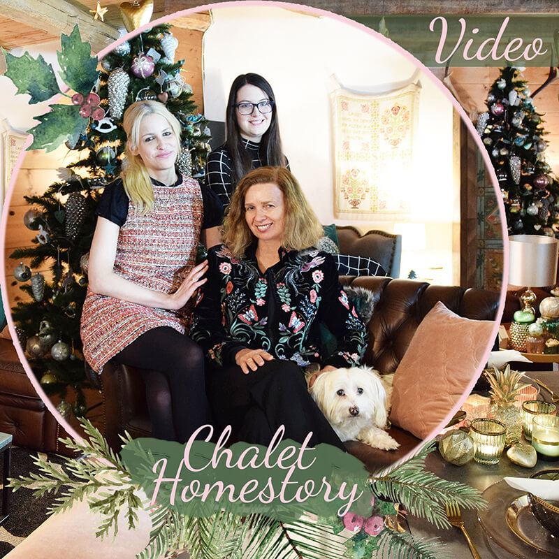 Video zur Homestory Chalet im Weihnachtslook :)