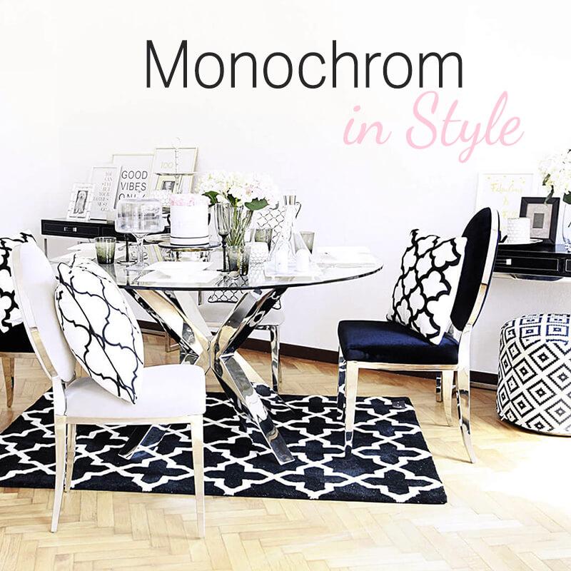 Neuer Look online! Monochrom in Style