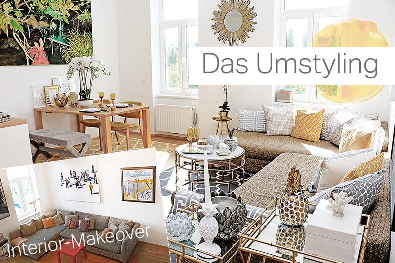 Wohnzimmer Interior-Makeover
