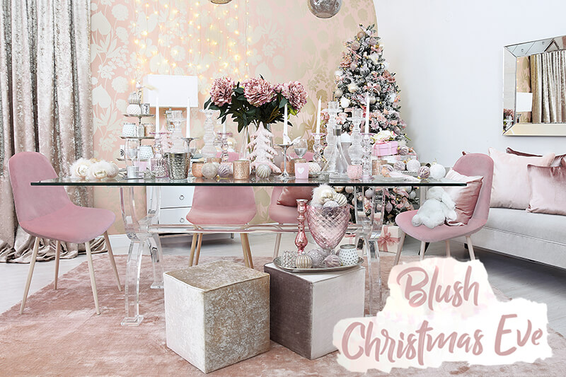 Blush Christmas Eve