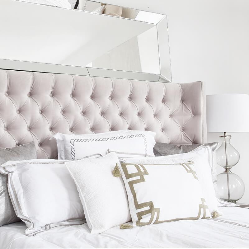 Für schönen Schlaf: Traumhafte Bettwäsche in Weiß
