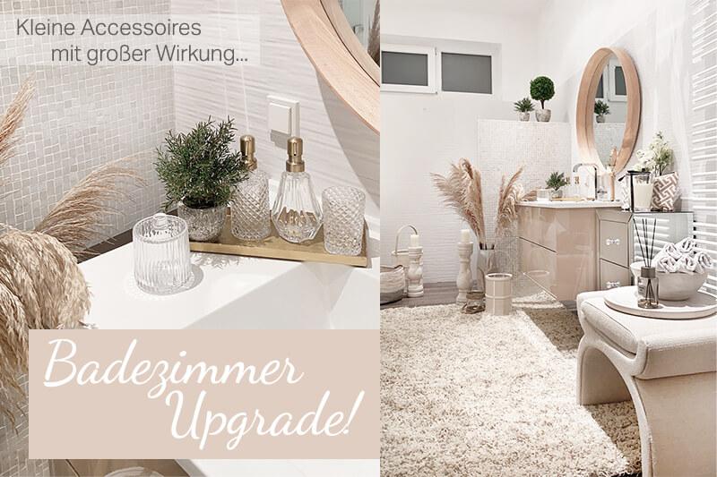 Badezimmer Upgrade: Kleine Accessoires mit großer Wirkung