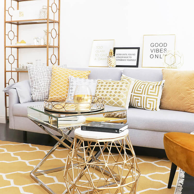 Get the look: casual living room