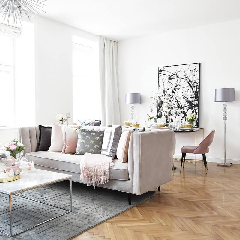 Christianes edler Oster-Wohnzimmer-Look