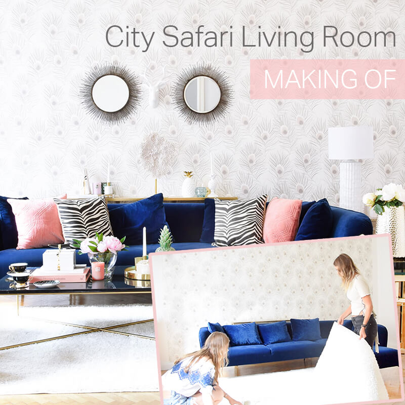 Making Of  Video - City Safari Living Room