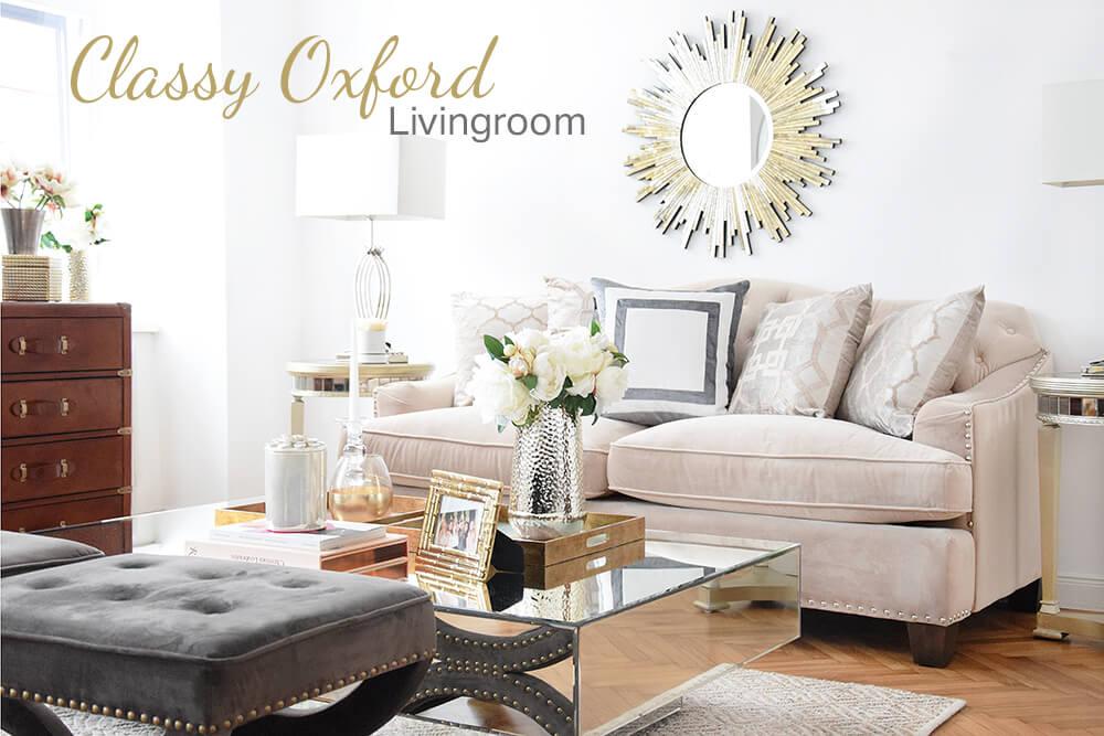 Classy Oxford - Ein klassisch elegantes Wohnzimmer