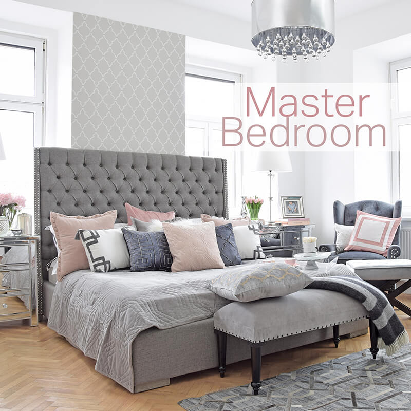 Neuer Look online! Master bedroom