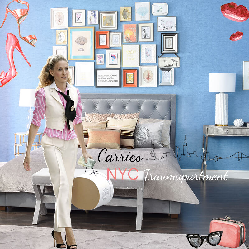 Get the Look: Carries NYC-Traumapartment