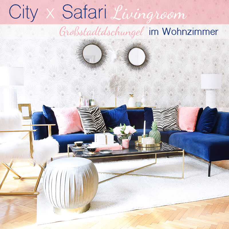 Get the Look: City Safari Livingroom