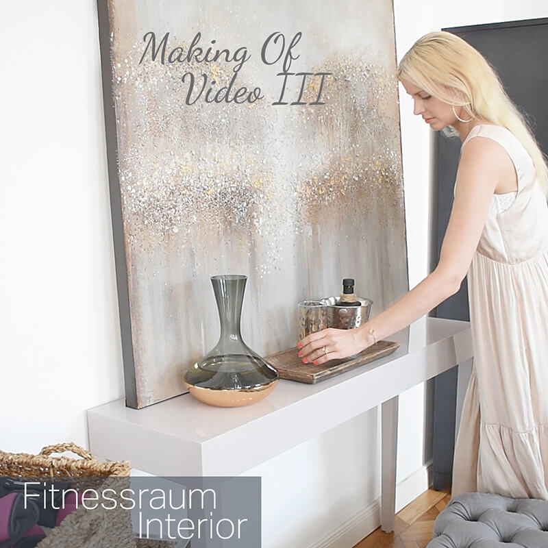 Making Of Video III : Fitness Room Essentials Styling