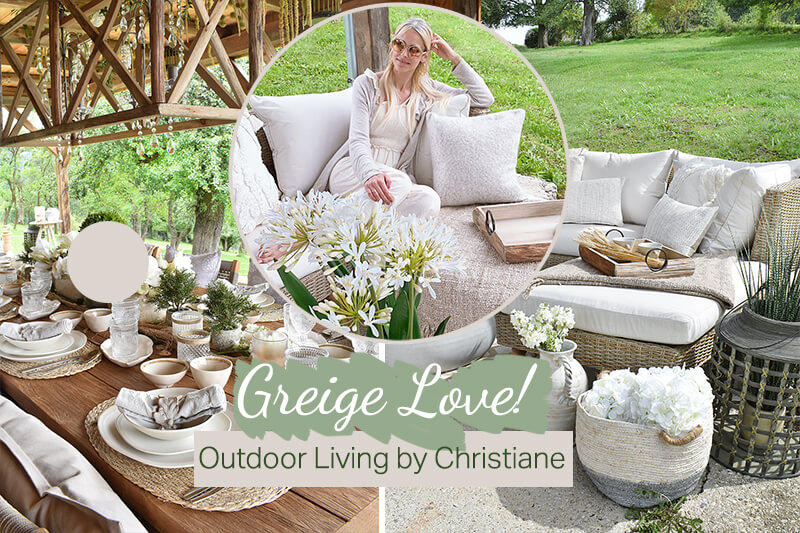 Greige Love! Outdoor Living by Christiane
