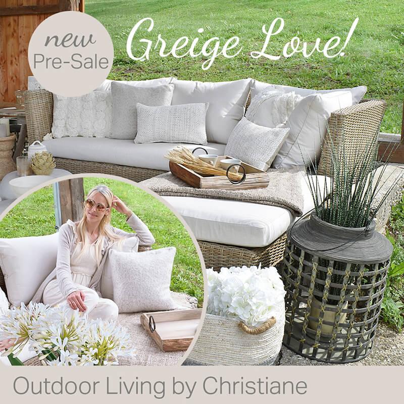 New Look: Greige Outdoor Living Love