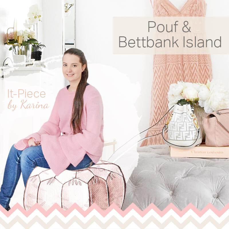 It-Piece Pouf & Bettbank Island