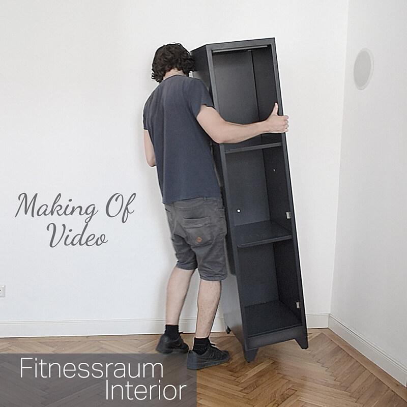 Making Of Video I : Schrank Aufbau