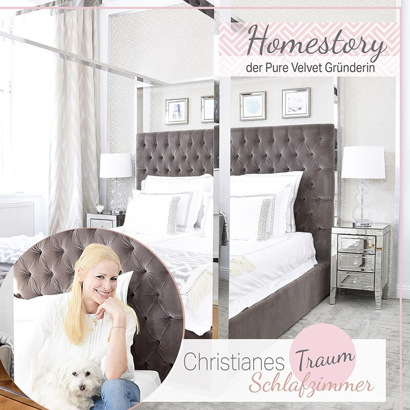 Homestory! Pure Velvet Gründerin Christiane zeigt ihr Traum-Schlafzimmer