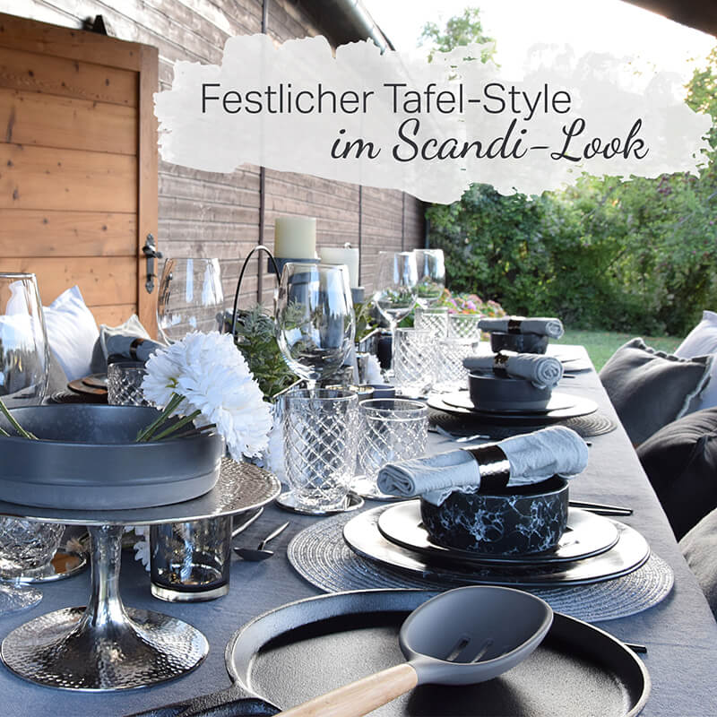 NEW - Tafel im Scandi-Look
