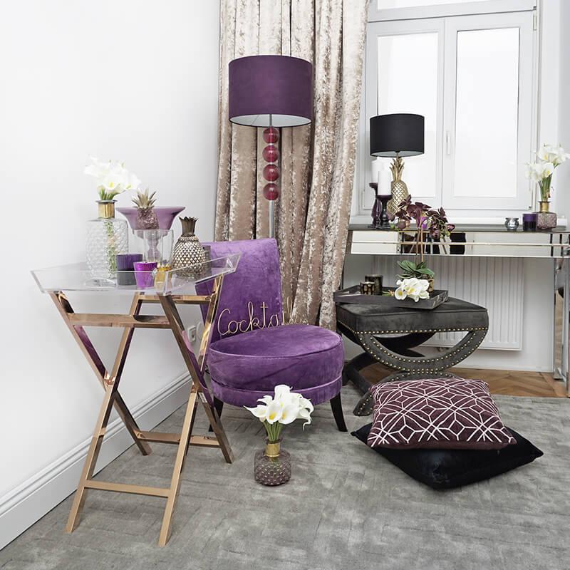 Pure Violet :) Samtige Entspannungs-Oase