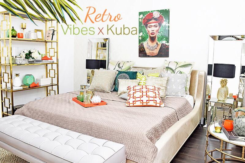 Retro Vibes x Kuba Schlafzimmer