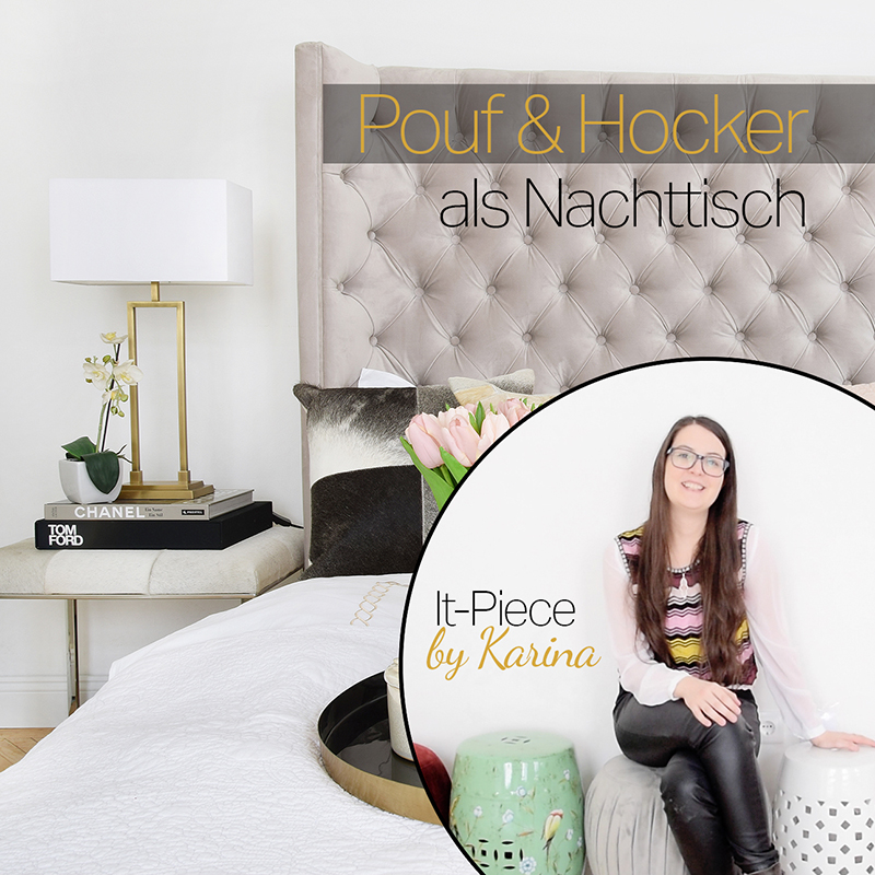 Karinas It-Piece Hocker & Pouf als Nachttisch