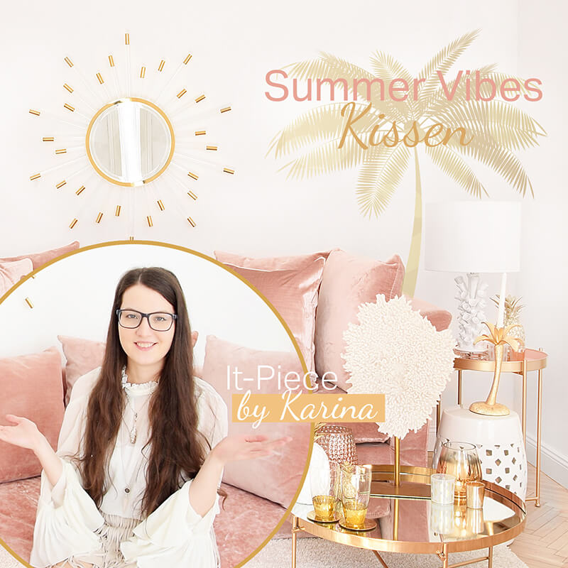 Karinas It-Piece Summer Vibes Kissen & Deko