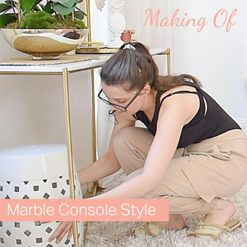Making Of: Marble Console Style