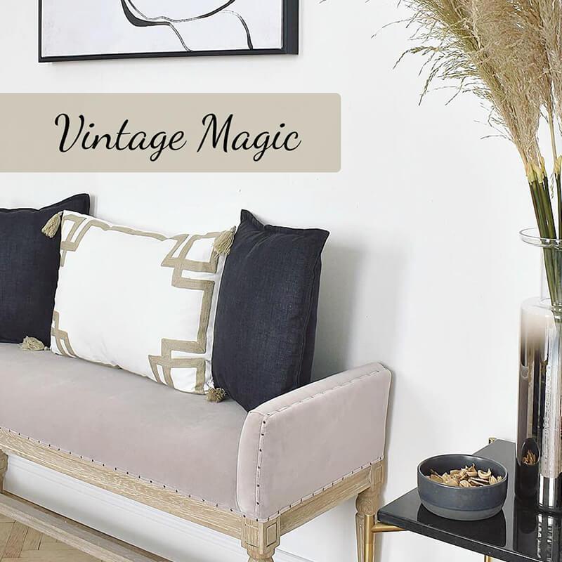 Video Vintage Magic: Edle Sitzbank