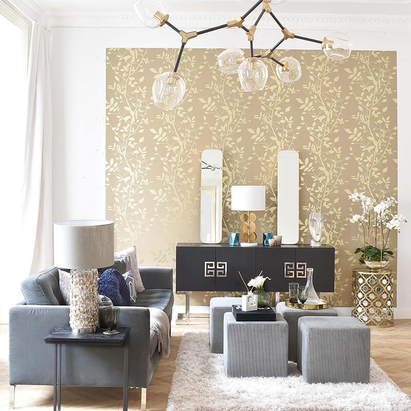 Fine Living Room: Wohnzimmer in dunklen Tönen