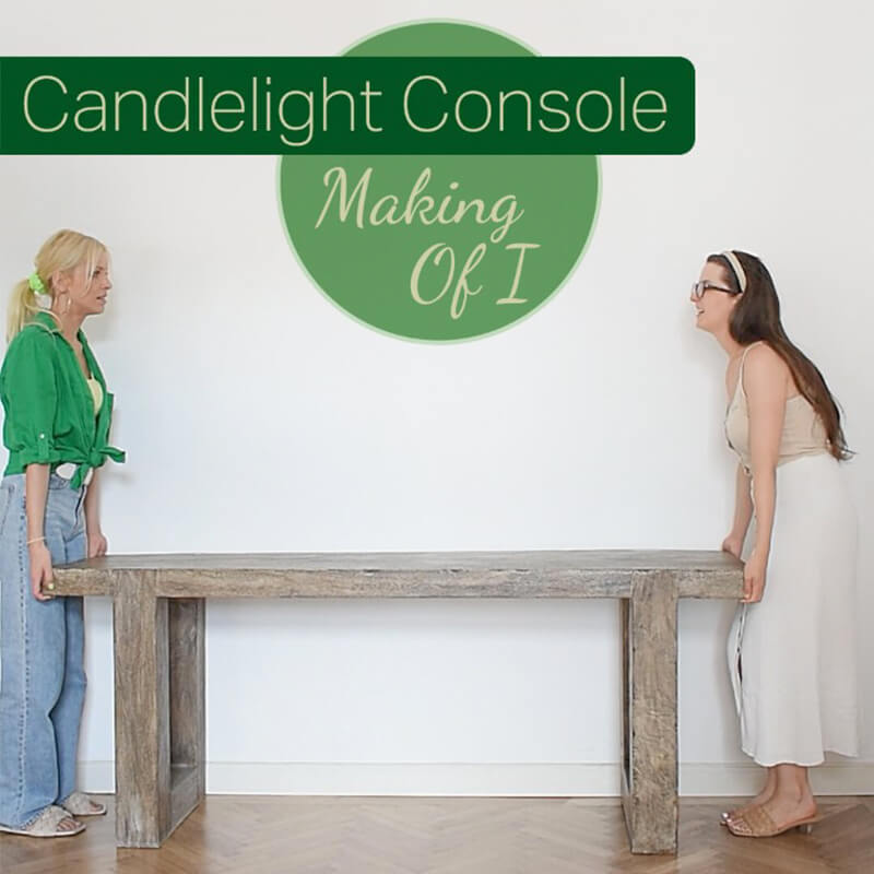Making Of Video I : Candlelight Console