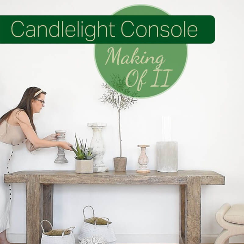 Making Of Video II : Candlelight Console