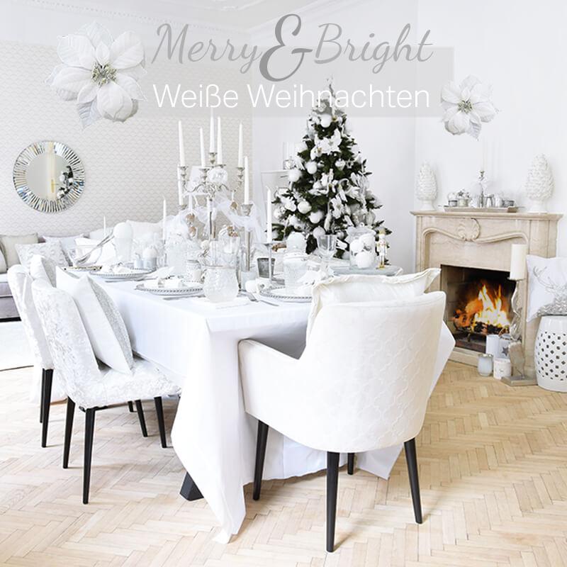 Neuer Weihnachtslook! Merry & Bright - Weiße Weihnachten