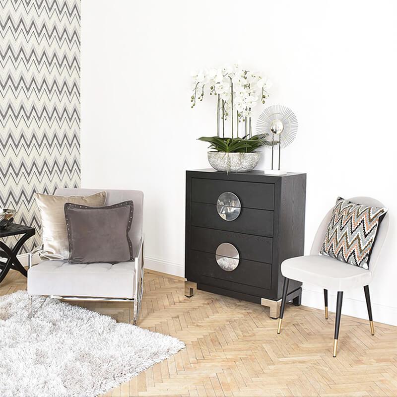 Zick Zack Pattern- perfekt fürs Wohnzimmer