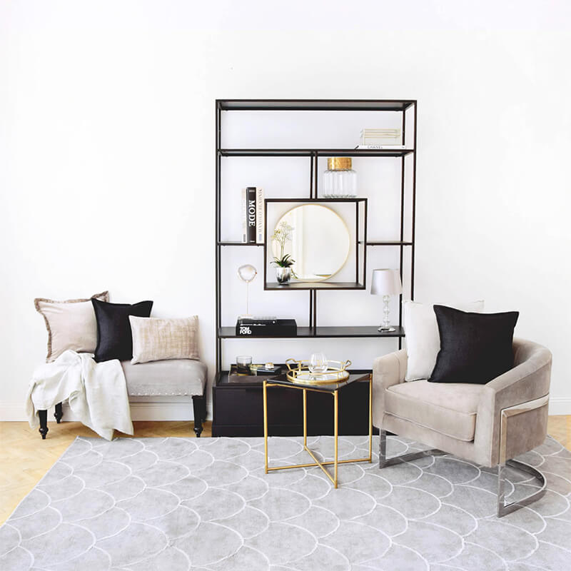 We love! Minimalistische Regal-Deko