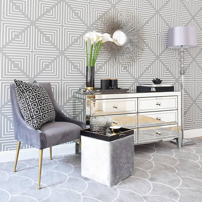 Grey Mood: Graue Eleganz im Wohnraum