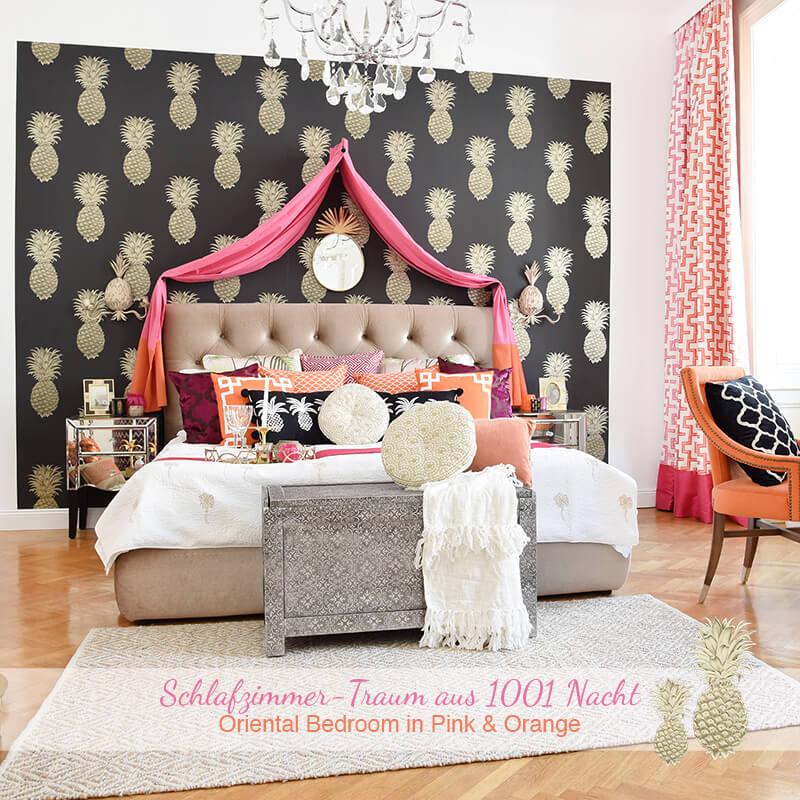 Neuer Look: Schlafzimmer-Traum aus 1001 Nacht