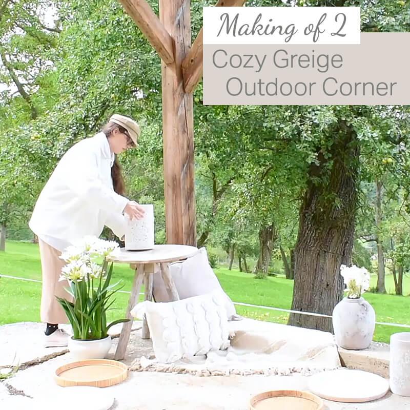 Making Of: Cozy Greige Corner