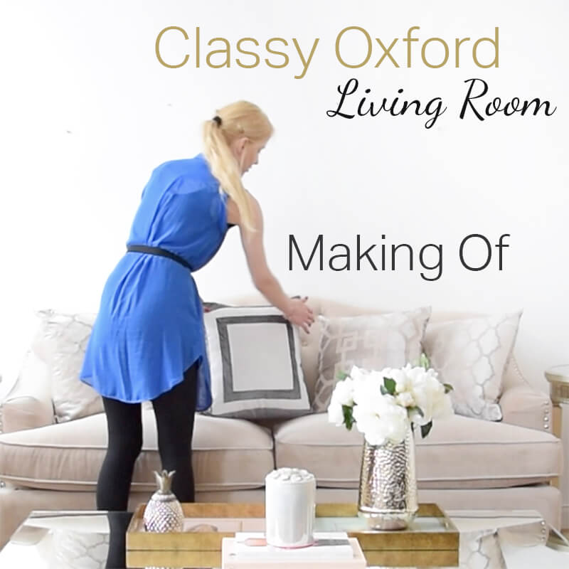 Oxford Style Living room - Making of online!